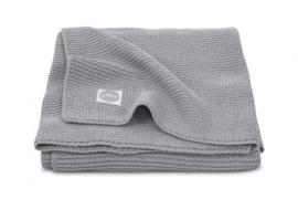Jollein Gebreide Wiegdeken Basic Knit - Stone Grey
