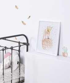 Lilipinso Flamingo Veer - Poster (P0181)