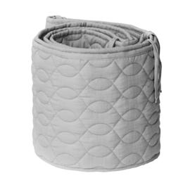 Sebra Bedbumper Grijs Quilted - Elephant Grey