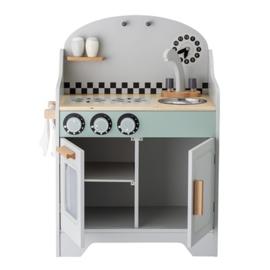 Bloomingville Houten Keuken Play Set Kitchen - Grijs