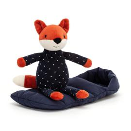 Jellycat Snuggler Knuffel Vos - Snuggler Fox (23 cm)