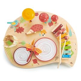 Tender Leaf Muziektafel Bos - Musical Table Forest +3j