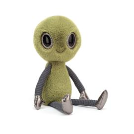 Jellycat Intergalactic Zalien - Knuffel Alien (31 cm)