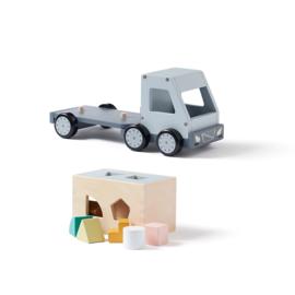 Kids Concept Aiden Vrachtwagen met Vormpjes