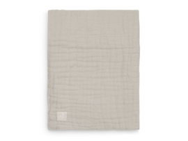 Jollein Deken Hydrofiel Wrinkled - Nougat (75 x 100 cm)