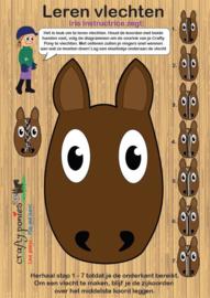 Crafty Ponies Vlecht Voorlok Bord incl. instructieboekje