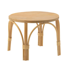 Maileg Rotan Tafel voor Knuffels - Table Rattan Medium