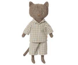 Maileg Knuffel Chatons - Kitten Grijs (24cm)