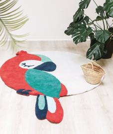 Lilipinso Tropica Vloerkleed Papegaai - Groen