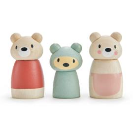 Tender Leaf Poppetjes Familie Beer - Bear Tales Dolls +3j