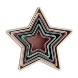 Mushie Stapeltoren Stapelbakjes - Nesting Stars + 0jr
