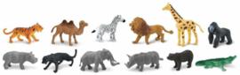 Safari Speelfiguren Toob Set - Wilde Dieren Afrika