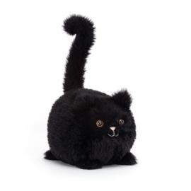 Jellycat Knuffel Kat Kitten - Kitten Caboodle Black (10 cm)