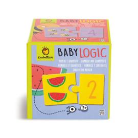 Ludattica Puzzel Baby Logic - Cijfers + 3jaar