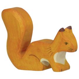 Holztiger Eekhoorn Oranje - Zittend (80107)