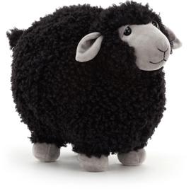 Jellycat Rolbie Sheep Black - Knuffel Schaap