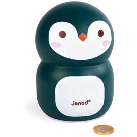 Janod Houten Spaarpot - Pinguin