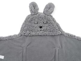 Jollein Wikkeldeken Bunny - Storm Grey