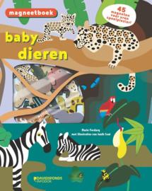 Uitgeverij DavidsFonds Magneetboek Babydieren - Marie Fordaq