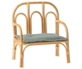 Maileg Rotan Bank voor Knuffels - Chair Rattan Medium