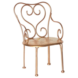 Maileg Stoel Poppenhuis Vintage Chair - Gold Vintage