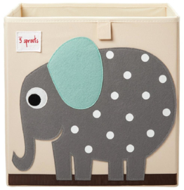 3 Sprouts Opbergdoos - Olifant