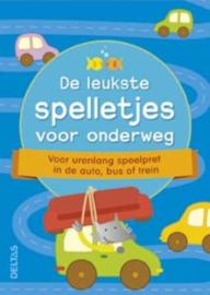 Uitgeverij Deltas 50 Kaarten - De leukste Spelletjes voor Onderweg