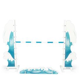 By Astrup Hindernis Water Blauw voor Stokpaarden