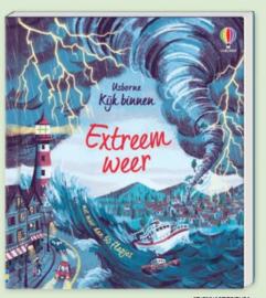 Uitgeverij Usborne Kijk Binnen Extreem Weer (flapjesboek) +6jr