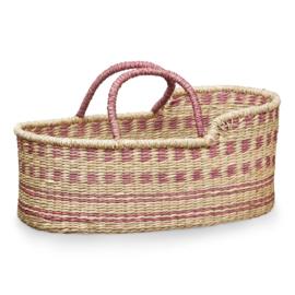 CamCam Poppen Mozes Basket - Roze