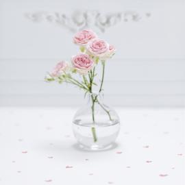 Lilipinso Coquette Behang - Hartjes Roze