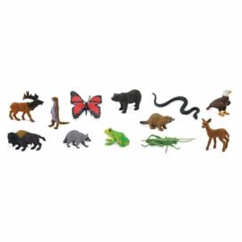 Safari Speelfiguren Toob Set - In het Bos