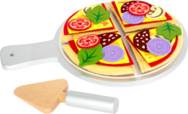 Small Foot Pizza Set met Vilten Ingrediënten + 2jr