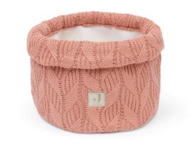 Jollein Commode Mandje Spring Knit - Rosewood