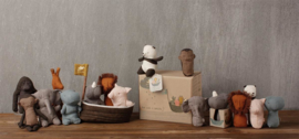 Maileg Noah's Ark met 3 mini diertjes