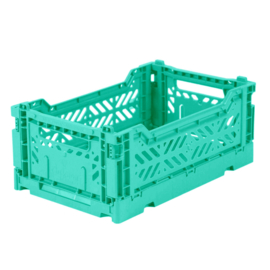 AyKasa Folding Crate Mini Box - Mint