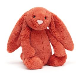 Jellycat Bashful Bunny Cinnamon Medium - Knuffel Konijn (31 cm)