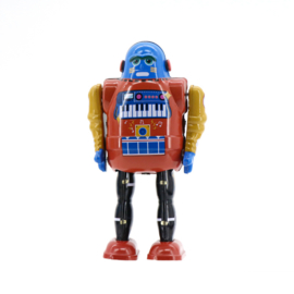 Mr & Mrs Tin Robot - Piano Bot