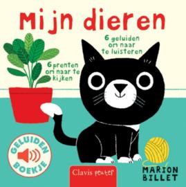 Uitgeverij Clavis Geluidenboekje - Mijn Dieren +1jr