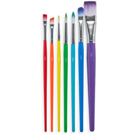 Ooly Verfkwasten Paint Brush Set - Set van 7 penselen