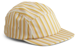 Liewood Pet Rory Cap - Stripe Peach Yellow Mellow (5-8 jaar)