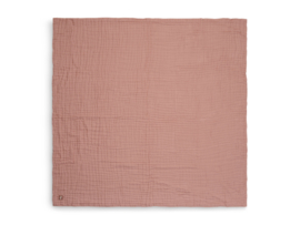 Jollein Deken Hydrofiel Wrinkled - Rosewood (120 x 120 cm)