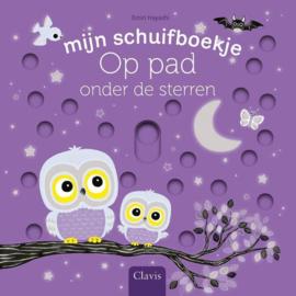Uitgeverij Clavis Schuifboekje - Op pad onder de sterren +1jr