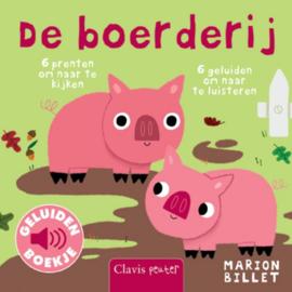 Uitgeverij Clavis Geluidenboekje - De Boerderij +1jr