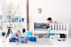 Lego Opbergbox met lade Brick 4 - Zwart