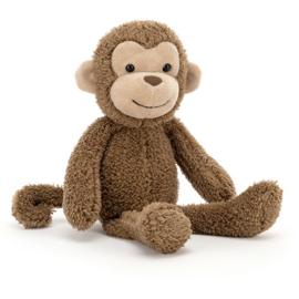 Jellycat Woogie Monkey - Knuffel Aap
