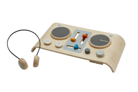 Plantoys Speel Set Houten DJ Mixer + 3jr