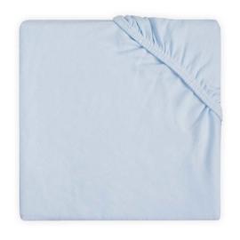 Jollein Hoeslaken Double Jersey - Soft Blue (60 x 120 cm)