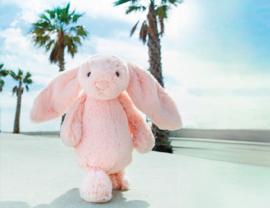 Jellycat Bashful Bunny Pink - Knuffel Konijn (31 cm)