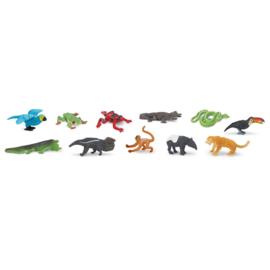 Safari Speelfiguren Toob Set - Regenwoud Dieren
